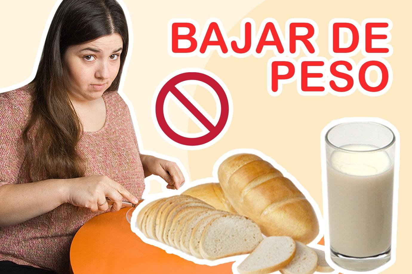 perder peso alimentos prohibidos